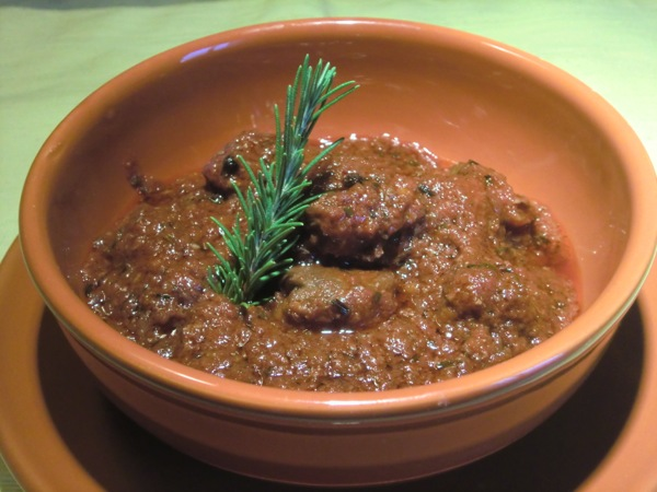 wildboar stew