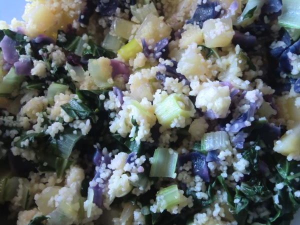 colorful cous cous